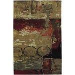 Chandra Rugs - Nirvana Brown/Red Rugs - NIR6601  SPECIAL PRICE: $632.00