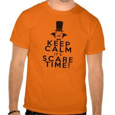 Keep Calm it's Scare Time Halloween T-shirt