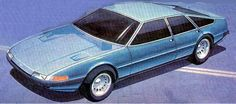 Rover SD1 by Kevin Spindler Compare the design influence of the Ferrari Daytona on the SD1.