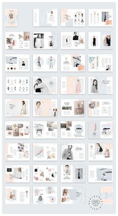 LUCIE Marble Lifestyle Magazine by Ruby&Heart Studio on the layout I want to make 😍 Portfolio Design, Mode Portfolio Layout, Book Portfolio, Mise En Page Portfolio, Fashion Portfolio Layout, Web Design, Design Blog, Editorial Layout, Editorial Design