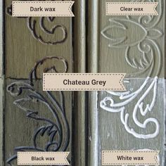 Chalk Paint® by Annie Sloan in Chateau Grey with several Chalk Paint® Waxes Chalk Paint Bed, Best Chalk Paint, Annie Sloan Chalk Paint Colors, Chalk Paint Projects, Annie Sloan Paints, Chalk Painting, Paint Ideas, Grey Painted Furniture, Annie Sloan Painted Furniture