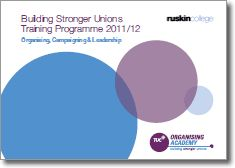 Building Stronger Unions   Training Programme 2011/12
