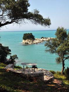 About « Seashore villa Corfu, Villa, Water, Outdoor, Gripe Water, Outdoors, Outdoor Living, Garden, Villas