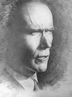 Clint #drawing #portrait #art