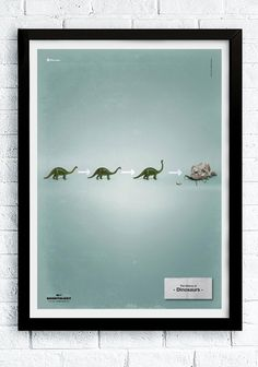 The history of dinosaurs in Five Seconds