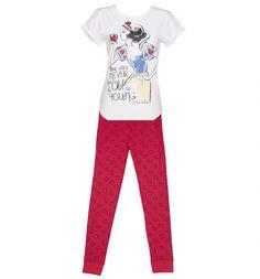 Ladies Disney Snow White Sketch Pyjamas