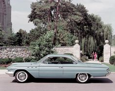 1961 Buick Invicta. The centerpiece of Buick's First Performance Line