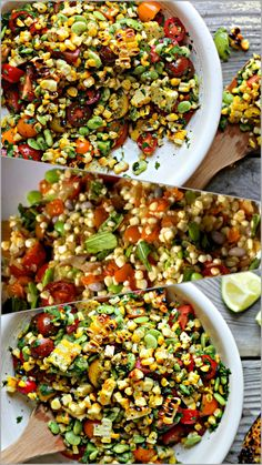 Snappy Succotash is one delicious salad, and one of the healthiest salads. This is the ingredients for these extraordinary salad: 1/2 cup of cooked edamame 1 cup of raw chopped green beans 1 cup o…