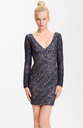 Black Halo 'Feleti' Lace Minidress  $460.00