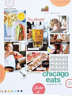 Chicago Eats by jenrn at Studio Calico