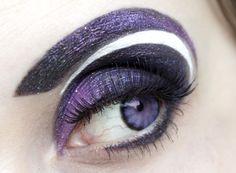 Big purple eyes