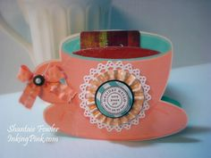 Imagine Cricut Cups   inkingpink: Imagine that... Coffee Giftcard Holder