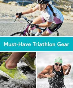 Must-Have Triathlon Training and Race Gear #triathlon #workout #gear