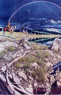 The art of Bev Doolittle is magnificent. American Indians, Native American, Bev Doolittle, Mother Earth, Artsy Fartsy, Mountains, Camouflage, Water, Travel