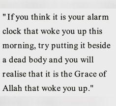 Subhan Allah, great reminder. Al Hamdulillah.