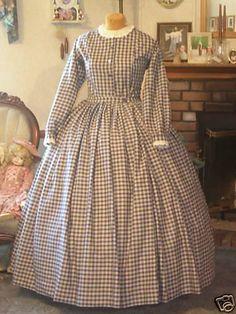 cival war dress
