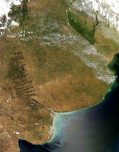 13 fotos de la Argentina desde la Estación Espacial Internacional - Infobae