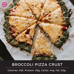 From cauliflower pizza crust, zucchini pizza crust, to broccoli pizza crust, and more, you can make healthy pizza with your fave veggies. Here are 5 recipes Broccoli Pizza, Zucchini Pizza Crust, Cauliflower Crust Pizza, Vegetable Pizza, Healthy Pizza Recipes, Cheese Recipes, Ketogenic Recipes, Vegan Recipes, Health Meal Plan