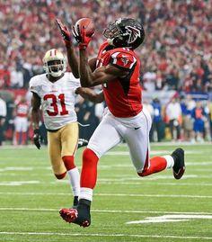 Atlanta Falcons' Julio Jones
