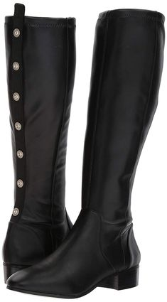 233ba23836423 Jamron Girls Women Fashion Knee High Lace-Up Canvas Boots Pure White Black  Zip Dance Boots ...