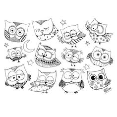 Discover recipes, home ideas, style inspiration and other ideas to try. Funny Owl Pictures, Vogel Clipart, Buho Tattoo, Owl Tat, Chicken Quilt, Funny Owls, Owl Applique, Mandala Drawing, Owl Bird