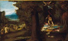 """""""Apollo dormiente e le Muse""""  Lorenzo Lotto"""