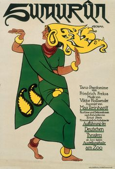 Ernst Stern - theater Poster Sumurün, 1900
