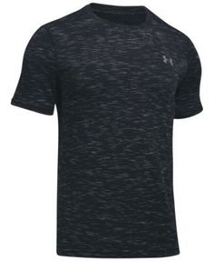 Under Armour Men's Threadborne Seamless Ultra-Soft T-Shirt - Grey/Blue XXL