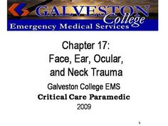 ch17  by rprue via authorSTREAM Emergency Medical Services, Power Points, Critical Care, Galveston, Trauma, Presentation, Education, Onderwijs, Learning