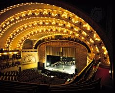 The Lyric Opera House in downtown Baltimore.
