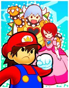Tags: Anime, Kingdom Hearts, Sora, Riku, Kairi