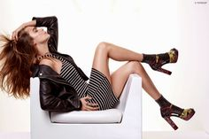 Fantasy Fashion Design: Cara Delevingne presenta diseños casual Chic en Zalando para Topshop