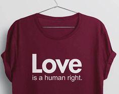 Love is Love Shirt | lgbt shirt, gay pride shirt, love wins equality shirt, equal rights shirt, lgbtq tshirt, Love is a Human Right Shirt