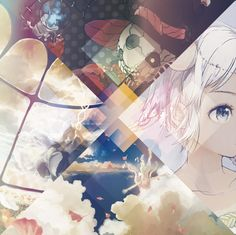 Mili/Mag Mell art works by Ao Fujimori