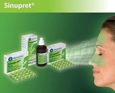 SINUPRET BIONORICA LIQUID/DROPS 100ml- Sinus congestation - FOR KIDS FROM  2yrs!