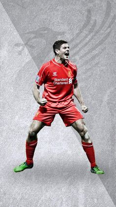 ♠ The History of Liverpool FC in pictures - Captain Fantastic Stevie G #LFC #History #Legends