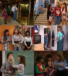 saved by the bell... gotta love that 90's fashion! :)