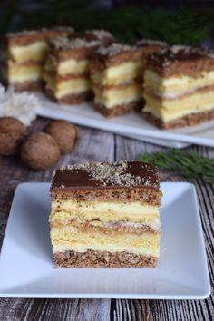 Polish Desserts, Polish Recipes, Polish Cake Recipe, Apple Cake Recipes, Low Carb Side Dishes, Breakfast Menu, Cute Desserts, Food Cakes, Food And Drink