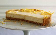 Passover Lemon Cheesecake: 2000s Recipes + Menus : gourmet.com