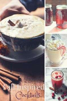 25 Fall Inspired Cocktails to Warm You up!! - www.countrycleaver.com