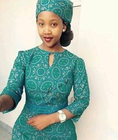 Shweshwe Traditional Dresses Designs South Africa is the home of Shweshwe and cottony cloth, Shweshwe is of South Africa agent but every African African Dresses For Women, African Print Dresses, African Attire, African Fashion Dresses, African Women, African Clothes, Traditional Dresses Designs, African Traditional Wedding Dress, African Print Shirt