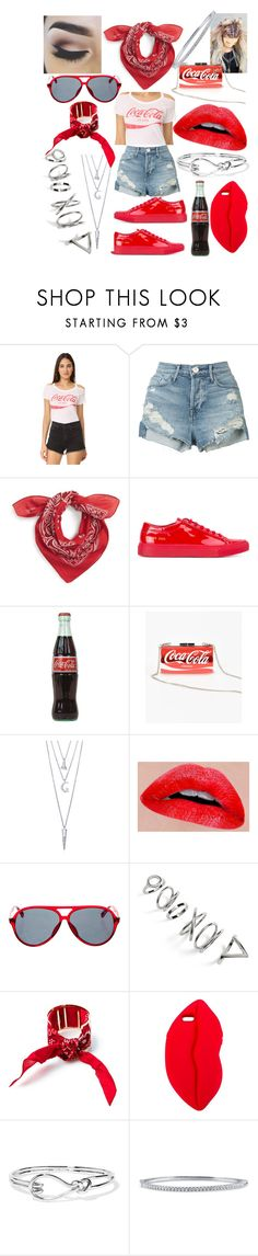 """""""Coke"""" by whodatgirl ❤ liked on Polyvore featuring Chaser, 3x1, BP., Common Projects, BERRICLE, Topshop, 3 AM Imports, STELLA McCARTNEY and Noir Jewelry"""