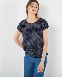 Camiseta básica de mujer Sfera estampada