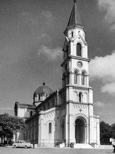 1947 - Igreja de Santa Cecília, no bairro de Santa Cecília.
