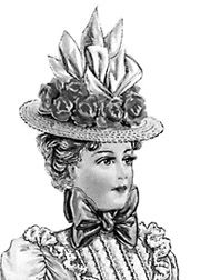 Victorian Hats   How to Make Victorian Hats for Spring