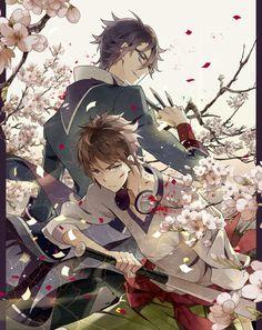 Fushimi & Yata | K-Project #manga