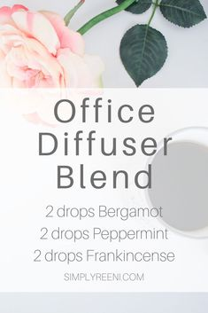 Home Office diffuser blend that I love using in my office while I work! It helps support focus uplifts mood and energizes! It's the perfect essential oil diffuser blend to use each day while you're working! Essential Oil Diffuser Blends, Doterra Essential Oils, Doterra Diffuser, Doterra Oil, Young Living Oils, Young Living Essential Oils, Asthma Remedies, Asthma Symptoms, Diffuser Recipes