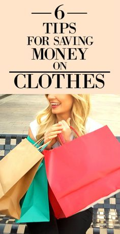6 tips for saving money on clothes pin 1