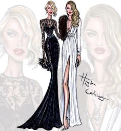 Candice Swanepoel & Rosie Huntington-Whiteley by Hayden Williams| Be Inspirational ❥|Mz. Manerz: Being well dressed is a beautiful form of confidence, happiness & politeness