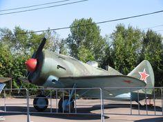 I-16 expuesto en Museo de Moscú